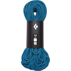 Black Diamond 7.0 Dry Rope 60m, aqua blue